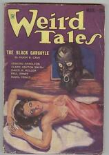 Weird Tales March 1934 VG+ Brundage cover