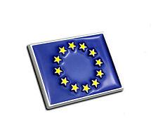 European Union flag metal car sticker emblem metal EU flag logo auto decal badge
