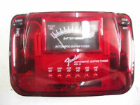 Fender California AG6 automatic guitar / bass tuner Candy apple red 0239988109