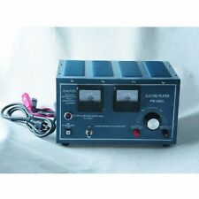 110V Platinum Silver Gold Plating Machine Jewelry Plater Electroplating