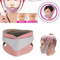 Anti Wrinkle Chin Cheek Lift Up Slimming Mask Thin Belt Strap Band V Face Shaper