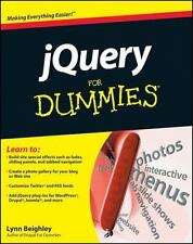 JQuery for Dummies by Lynn Beighley and Cody Lindley (2010, Paperback)