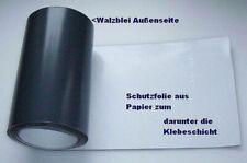 Universelle Walzbleifolie selbstklebend 100 x 18,0 cm Blei-Folie Dach Modellbau