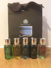 Molton Brown Mens Body Wash / Shower Gel Gift Set (5 x 30ml) Bottles - NEW
