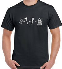 How To Make A Dalek Mens Funny Dr Who Inspired T-Shirt The Doctor
