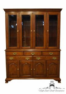 """HENKLE HARRIS Solid Wild Black Cherry Traditional Style 61"""" Buffet w. Lighted..."""