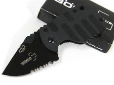 Boker Plus BO586 Black Serrated Subcom F Knife 01BO586