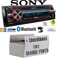 Sony Radio für Fiat Grande Punto 199 Bluetooth MP3/USB iPhone/Android Einbauset
