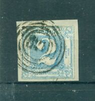 Thurn und Taxis, Ziffern im Quadrat, Nr. 39 Stempel 320 Briefstück