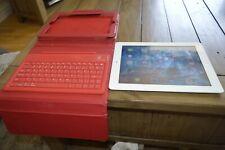 Apple iPad Mini 1st generación 16GB, Wi-Fi, 7.9in - Blanco viene Con Mini Teclado