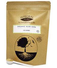 Aloe Vera Powder   Organic Certified   Various Sizes   1 gram scoop included