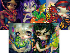Darling Dragonling Set of FIVE 8x10 art prints by Jasmine Becket-Griffith SIGNED