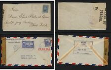 Venezuela  WWII  censor covers
