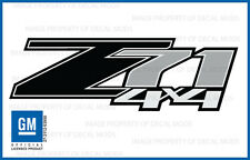 2008 Chevrolet Silverado Z71 4x4 decals - FB - 1500 BLACK GM HD stickers Chevy