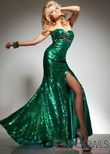 Tony Bowls tb2351313 Emerald Size 4 -- Evening Dress-Military Ball-Prom