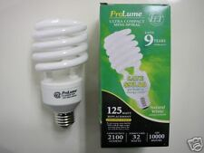 20-Halco ProLume FULL SPECTRUM 32W Long Life 5000K Compact Fluorescent Bulbs