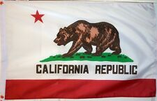 CALIFORNIA USA 3 X 2 Feet FLAG Californian  AMERICAN UNITED STATES of AMERICA