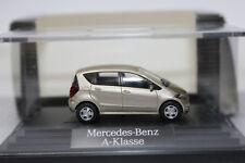 Mercedes Benz A Klasse  1:87 von Herpa Sondermodell Mercedes gold