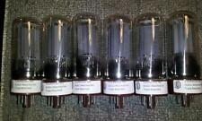 TUBEMEISTER Matched Sextet(6) 6L6GC GENERIC Audio Power Tubes