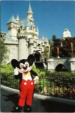 Disneyland Mickey Mouse Sleeping Beauty Castle Fantasyland Disney Postcard F20