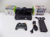 Like New 1TB Xbox 360 Slim Console + Kinect + Wireless Controller + 20x Games