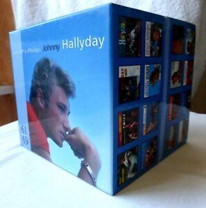 RARE JOHNNY HALLYDAY COFFRET 40 CD AUDIO EDITION LIMITEE COMME NEUF