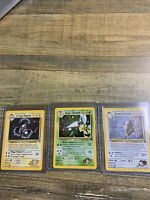 GYM CHALLENGE COLLECTION HOLO LOT Rare Pokemon Card ALL NM MINT Clean