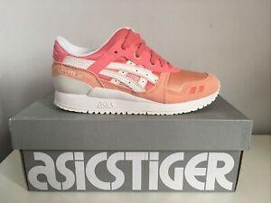 Girl's Asics Tiger Gel-Lyte Running Trainer Size UK 2.5 Kids Running Shoe