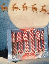 12 Strawberry Fruit Flavoured Candy Canes /New stock/Sweets Deluxe Ltd