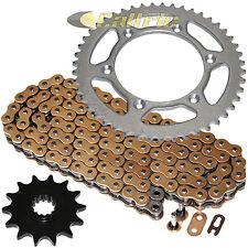 Gold O-Ring Drive Chain & Sprocket Kit Fits SUZUKI RM250 1983 1984 1985 1986