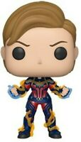 FUNKO POP! MARVEL: Endgame - Captain Marvel w/ New Hair [New Toy] Viny