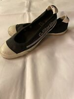 Ladies G-Star RAW Navy Blue Slip On Shoes Trainers Shoes UK 6