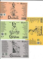 Beer Labels Lithuania Dundulis, Lietuva, Lot