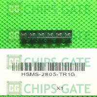 6PCS HSMS-2805-TR1G DIODE SCHOTTKY RF 70V 1A SOT-143 Avago