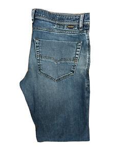 Original Diesel Tepphar R488C Slim Carrot Blue Stretch Jeans W34 L32 ES 8265