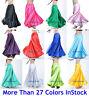 Skirts Cercle Satine Long Jupe Belly Dance Danse Orientale Danse Du Ventre Robe