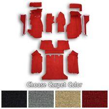 Complete Cutpile Replacement Carpet Kit with Pad fits Corvette C4 - Choose Color