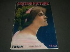 1915 FEBRUARY MOTION PICTURE MAGAZINE - ETHEL CLAYTON COVER - ST 5009