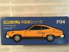 TOMICA DANDY  FORD MUSTANG II MACH 1 YELLOW