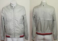 Duck & Cover Men's Jacket Size S ZIP THRU Beige Sport Fashion Designer Beige