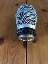 Shure Beta 87A wireless capsule