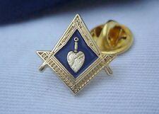 Masonic Lodge Officer Charity Steward Trowel Jewel Lapel Pin Badge & Gift  Pouch