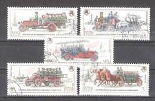 RUSIA (URSS) nº 5171/5175º Coches de bomberos. Serie Completa