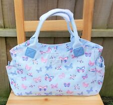 Ladies Butterfly Paradise Tote Handbag Bag Canvas Oilcloth by Jennifer Rose
