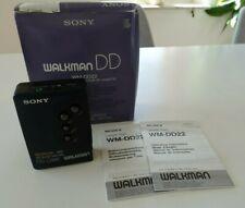 SONY Walkman WM-DD22 - Cassette Player - Blau - Originalverpackung und Anleitung