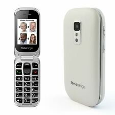 Fonerange Big Button Senior Elderly Easy to Use Flip Phone SIM Free Mobile Phone