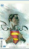 Action Comics #1001 Mack Variant Superman Bendis DC Comic 1st Print unread NM