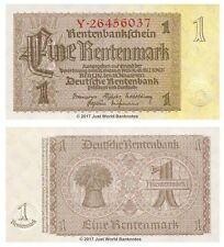 Germany 1 Rentenmark 1937  P-173b Banknotes UNC
