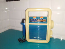 21091 Jouet Fisher price vintage ancien radio Microphone Sing-a-long 1984 FM/AM