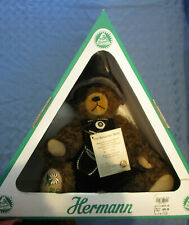 """HERMANN """"Old Bavarian Bear"""" Limited Edition, Fully Jointed, 14"""", Mohair, GERMANY"""